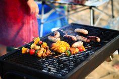 Amuzo's bournemouth beach BBQ Bournemouth Beach, Beach Bbq, Grill Pan, Grilling, Sea, Studio, Breakfast, Food, Griddle Pan