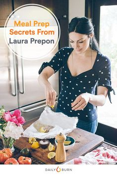 The Stash Plan: How to Meal Prep Like Laura Prepon via @dailyburn