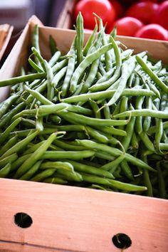 summer fresh green beans... yum.