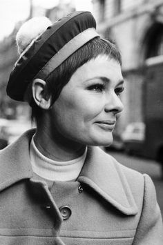 Know what you've got and work it.  Judi Dench is so pretty.  This list is awesome.