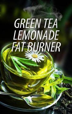 Dr Oz Green Tea Lemonade Fat Burning Drink – Detox tea for weight loss Healthy Drinks, Get Healthy, Healthy Tips, Healthy Choices, Diet Drinks, Beverages, Healthy Food, Green Tea Lemonade, Xls Medical