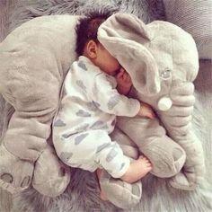Venda quente do Elefante Macio Automotivo Travesseiro Sono Do Bebê Berço Cama Dobrável Almofada Do Assento de Carro Do Bebê Portátil Quarto Jogo de cama em Travesseiros de Home & Garden no AliExpress.com | Alibaba Group