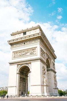 World famous Arc de Triomphe