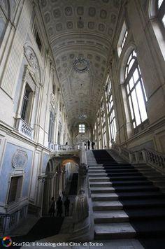 Palazzo Madama, Scalone di Filippo Juvarra #torino