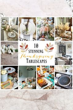 I don't know about you, but I love Thanksgiving. Just sitting around, spending time with family that we simply don't see often enough, laughing, eating some amazing food and watching all of the kids play together…it is just a great time! #Thanksgiving #Tablescapes #FallSettings Fall Decorating, Decorating On A Budget, Fall Mantels, Large Wood Slices, Fall Fireplace, Thanksgiving Tablescapes, Table Scapes, Fall Diy, Wood Pieces