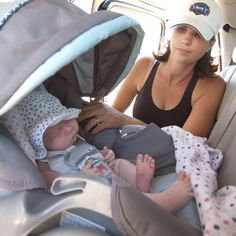 12 Tips for Traveling with Baby Traveling with a baby in the car raises a number of questions. Learn the answers at Babble.Traveling with a baby in the car raises a number of questions. Learn the answers at Babble. Baby Kind, Our Baby, Baby Boy, Little Babies, Cute Babies, My Bebe, Maila, Baby Makes, Baby Family
