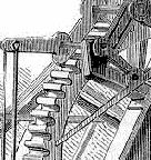 Illustration showing the turning cogs and bevel gears of a machine [The Workshop of the World], BBC.