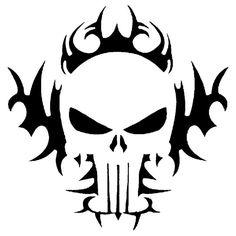 airbrush tattoo stencil | Airbrush Skull Stencils Pictures Tattoo Performance 100