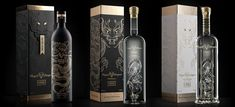 Royal Dragon Vodka With 23-carat Gold Flakes  vodkas are actually combinations of worldwide elements, from their Dutch design, Italian packaging and Diamonds from Antwerp, to the top quality Russian contained vodka, the Asian Dragon and 23-carat gold leaves that come from Switzerland.