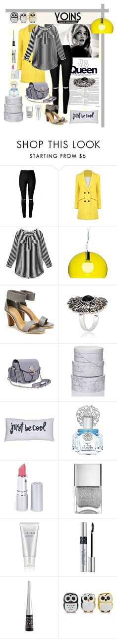 """""""just be cool"""" by fabiana-fellini ❤ liked on Polyvore featuring Kartell, Vince Camuto, HoneyBee Gardens, Shiseido, Christian Dior, Wet n Wild, Forever 21, women's clothing, women and female"""