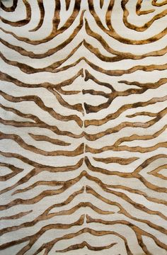 """Rugs USA Safari Contemporary Zebra Print with Faux Silk Highlights Brown Rug 7'6"""" by 9'6"""" is $732, but only $475 with 35% off code."""