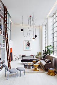 Daily Dream Decor: Modern loft in London