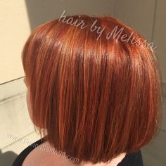 Multi-dimensional red. #redhair #fusionsalonsc #redkencolor #hairbymelissafusion