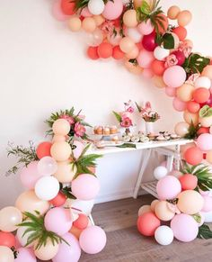 Balloons + bites for a dreamy bridal shower