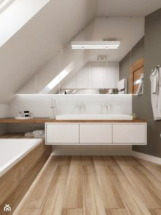 Loft Bathroom, Upstairs Bathrooms, Family Bathroom, Modern Bathroom, Master Bathroom, Modern Bedroom Design, Bathroom Design Small, Bathroom Interior Design, Swiss House