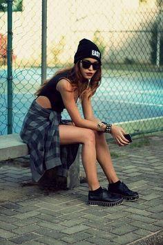 Look sakeater rockero black Outfit rockero