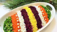 СЕЛЕДКА ПОД ШУБОЙ  Салат, секреты приготовления. Как легко украсить салат.  Salad with Herring/ - YouTube