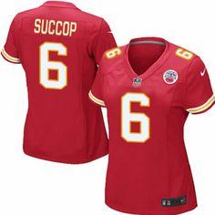 1fae9992c Ryan Succop Jersey Kansas City Chiefs  6 Womens Red Limited Jersey Nike NFL  Jersey Sale