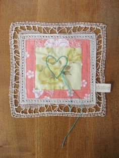 without words... heart wall patch by dottieangel on Etsy