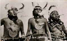 Three Sioux men participate in sun dance and blow whistles 1 :: MS 320 Paul Dyck Native American Wisdom, Native American Photos, American Spirit, Native American Tribes, Native American History, American Indians, American Life, Sioux, Old Pictures