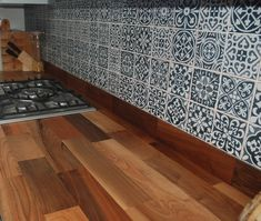 kitchen upstands with tiles - Google Search