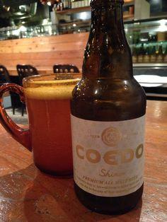 Coedo beer from Saitama. At Harajuku, Tokyo. May 2014