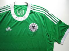 Germany away football shirt by Adidas 60 years anniversary Adidas Football, Football Soccer, World Cup Shirts, 60 Year Anniversary, National Football Teams, Fifa World Cup, Jersey Shirt, Football Shirts, Germany