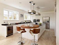 Дизайн кухни с барной стойкой: 40 трендов для современного и практичного…