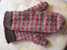 Ravelry: spoklie's Fox and Geese mittens