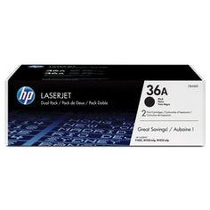 HP Toner Cartridge – Black (Dual Pack); 36A