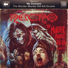 """NOW PLAYING: """"No Concern"""" via @necro_is_god #GetSome #MurderMurderKillKill #hiphop #emcee #Necro #DIE"""
