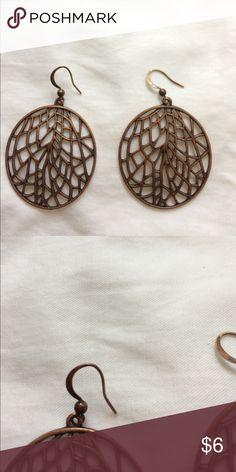 Copper earrings Great condition Jewelry Earrings