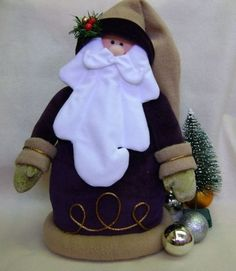 Could transfer this to clay Christmas Makes, Father Christmas, Christmas Snowman, Christmas Humor, Handmade Christmas, Felt Ornaments, Holiday Ornaments, Holiday Crafts, Christmas Decorations