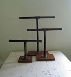 Industrial Jewelry Display
