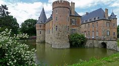 Château de Braine-le-Château ~ Châteaux Forts Médiévaux de Belgique et Moyen Âge