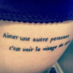 """Les Mis. """"To love another person is to see the face of God."""""""