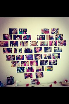 Im going to get wallpaper that says Best Friend and stick a bunch of pictures of me Sam Raeane Jessica Willy Zynphinie Alexia Ayshah Sydney etc.