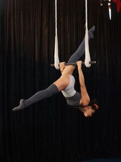 trapeze - one I can actually do (need to improve my split though!)