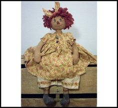 Download Rose Annie Sewing Pattern   Dolls & Clothing   YouCanMakeThis.com