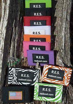 Austauschbarer Klettverschluß R.E.S Boots