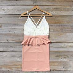 Dusty Rose Dress, Sweet Women's Party Dresses