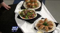 Morton's Steakhouse Head Chef Emily Peck shared some great recipes for Warm Steak Salad and Filet  Sandwiches you can use to spice up your Super Bowl party...or really any day of the week!