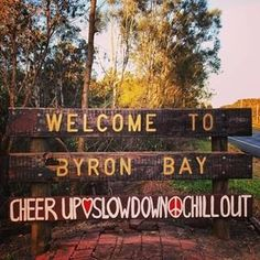 I Byron Bay Today Welcome to #byronbay , #nsw #australia More