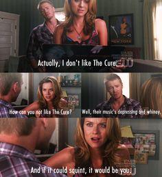 Chad Michael Murray (Lucas Scott) & Hilarie Burton (Peyton Sawyer-Scott) - One Tree Hill