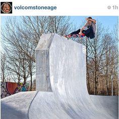 Into #skateboarding?  Follow @VolcomStoneAge, the official instagram of the Volcom Skate Team. - @volcom