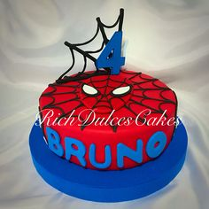 Resultado de imagen para torta hombre araña