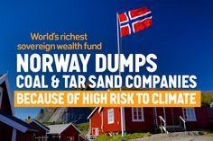 """""""Norway made all its money on oil, but now it's dumping  its fossil fuel stocks. It's the Rockefeller of countries,"""" said Bill McKibben. Photo credit: Fossil Free"""