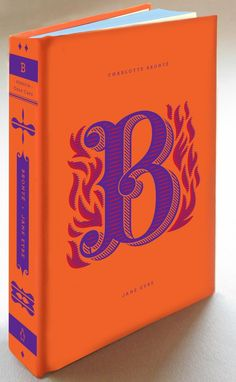 "Who else but the talented Jessica Hische  - ""B""    Color combo - FIRE!"