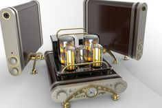 Tube amplifier HI-END