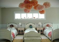 bedroom ideas for shared room with three kids